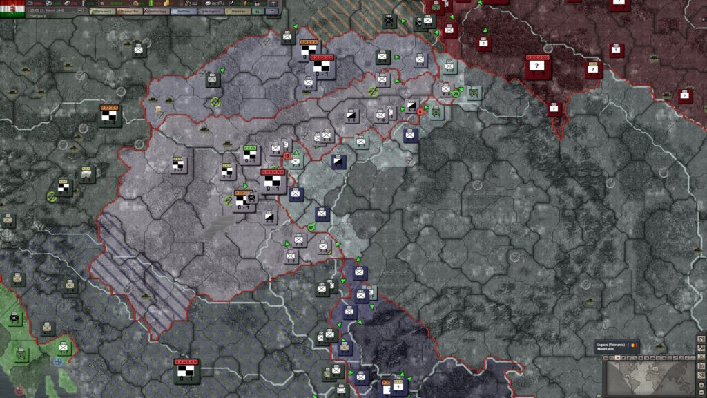 Hearts of Iron 3 Hungary