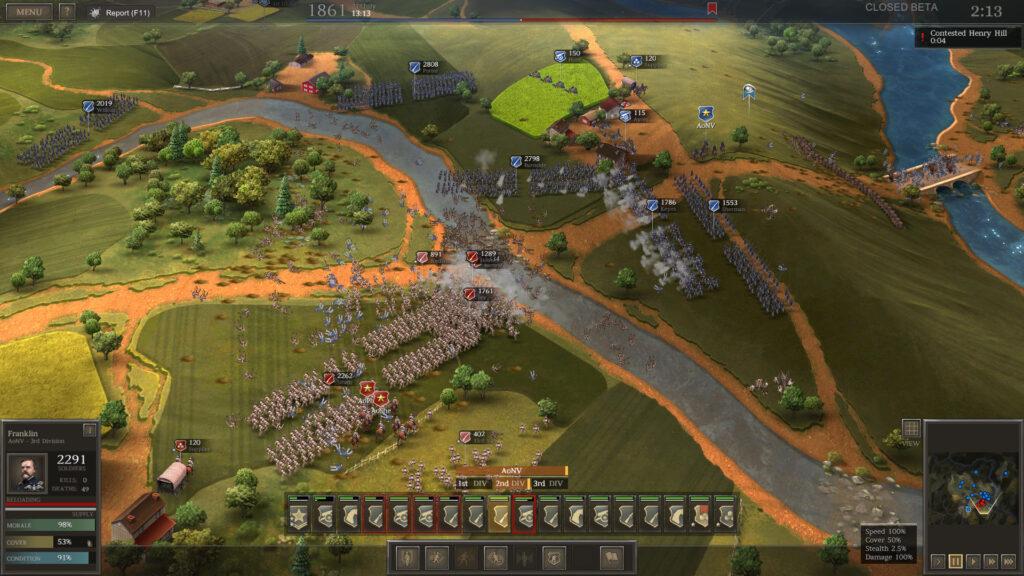 Screenshot of Ultimate General: Civil war